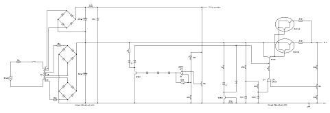 Circuit 		diagram for the power supply.